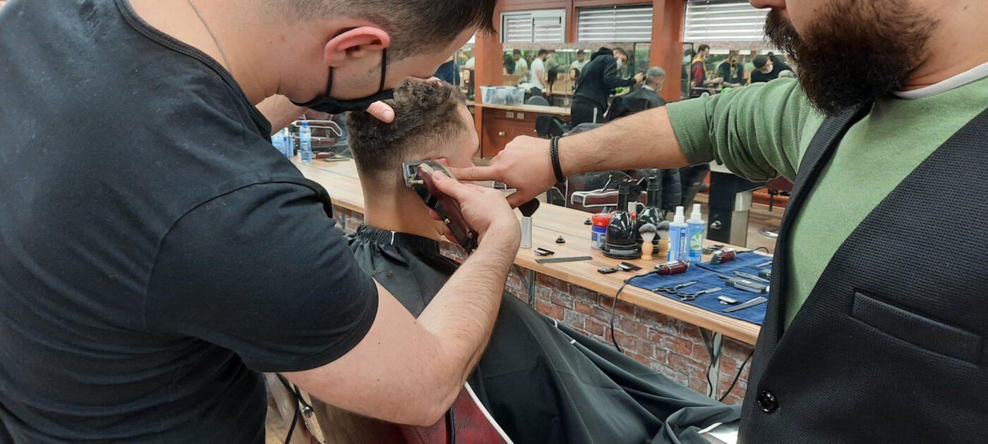 Hair Barber Academy docent