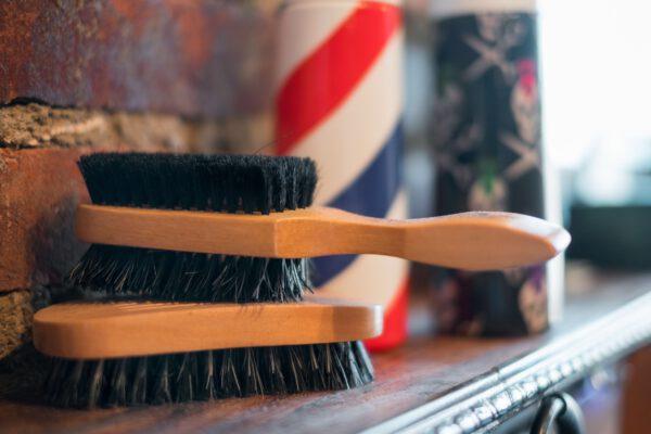 haarborstels barber