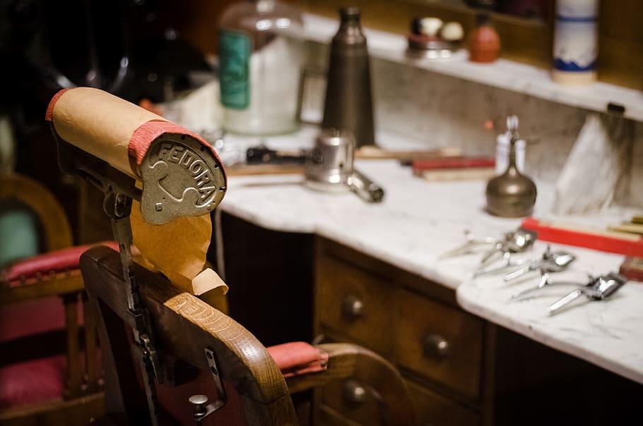 Naar de barbershop
